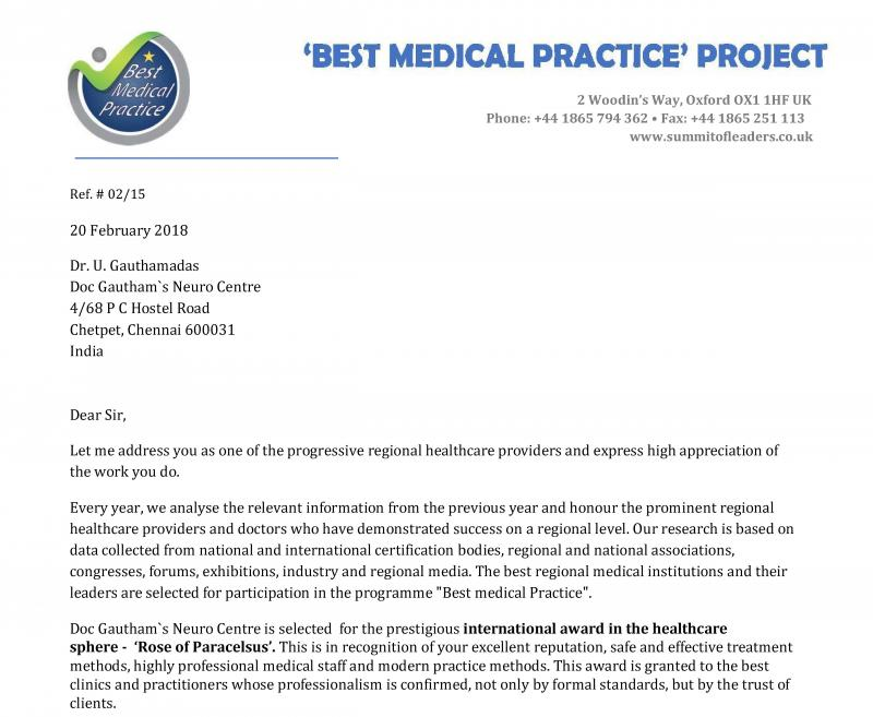 Best Medical Practice in Middle East